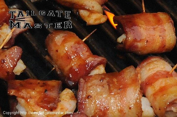 bacon shrimp kababs