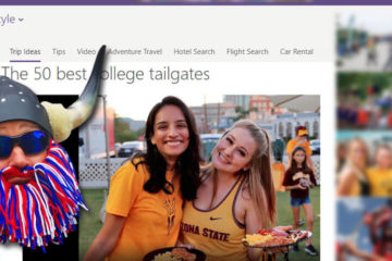 msn.com featuring TailgateMaster.com and Admiral BigGun