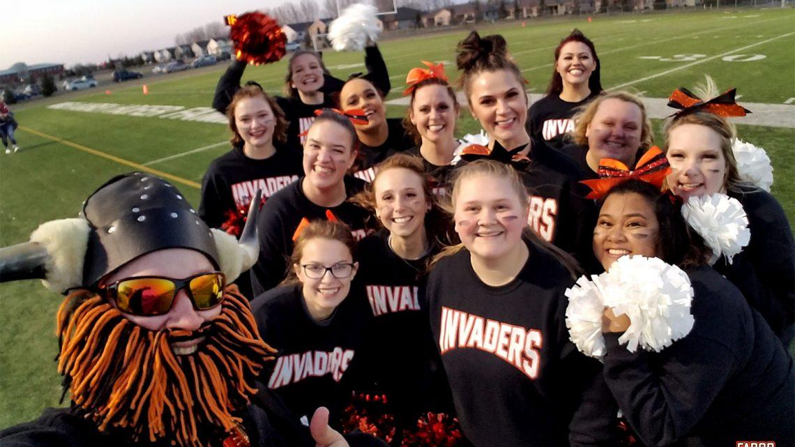 Cheerleaders Epic Selfie