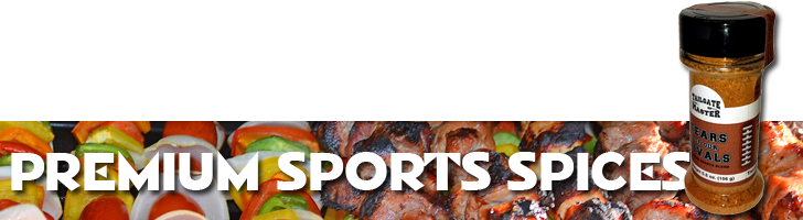 CLICK HERE: TailgateMaster.com Tears of our Rivals Premium Sports Grilling Spices