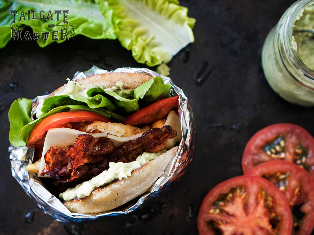 yummy, mouth-watering BLT sandwich