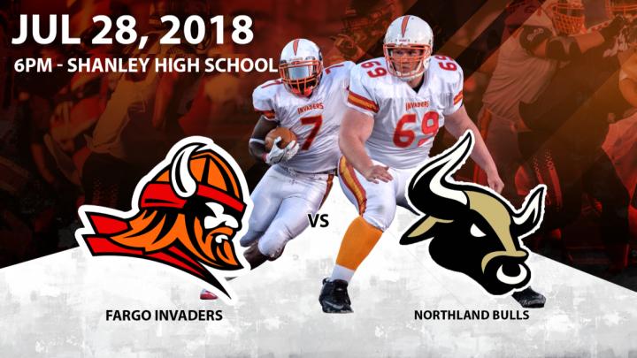 Northland Bulls at Fargo Invaders