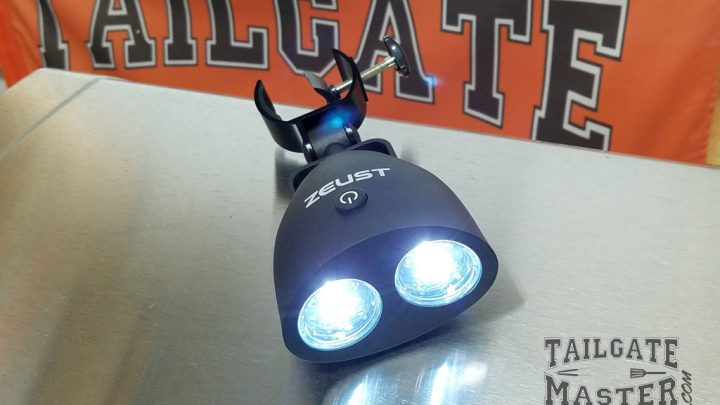 Zeust Grilling Lights Review Tailgate Master