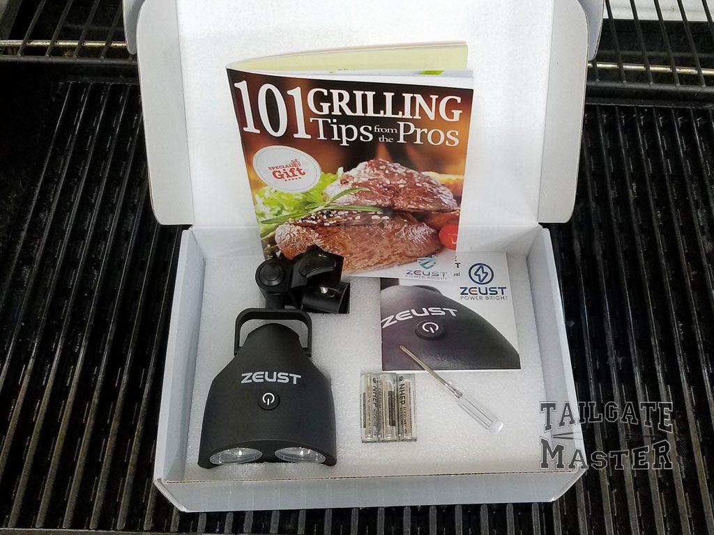 sirus 2.0 grilling light review what comes in the package