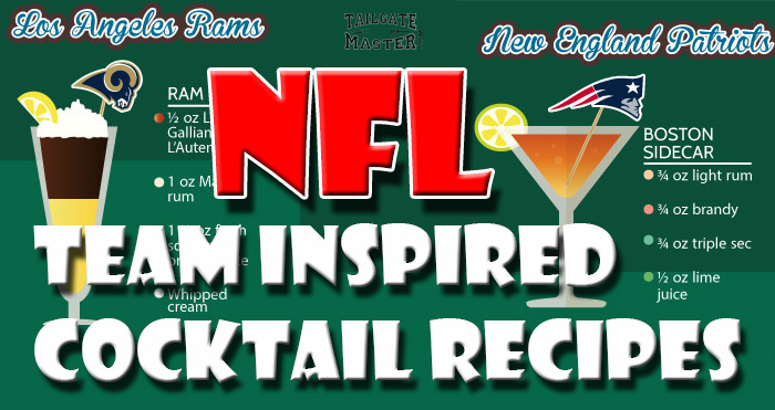 best website c2c74 c2eb5 32 NFL Team Inspired Cocktail Recipes