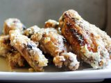 Garlic Grilled Parmesan Chicken Wings
