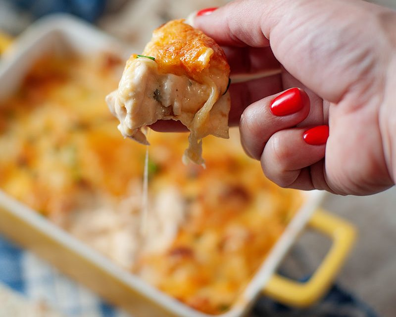 Buffalo Chicken Dip tailgating recipe