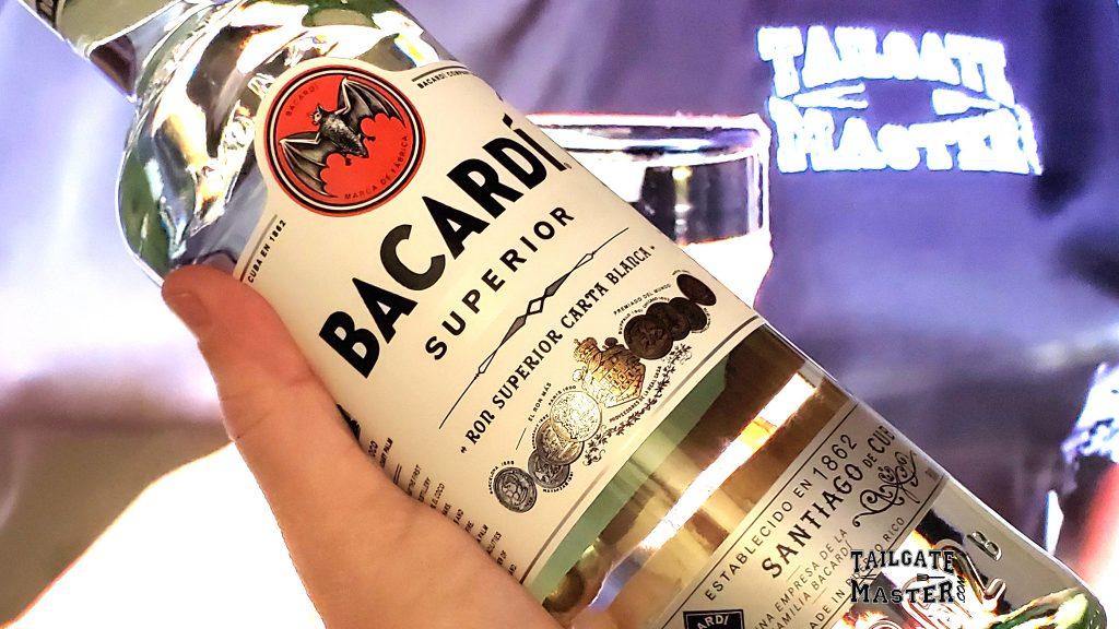 bacardi rum tailgate master
