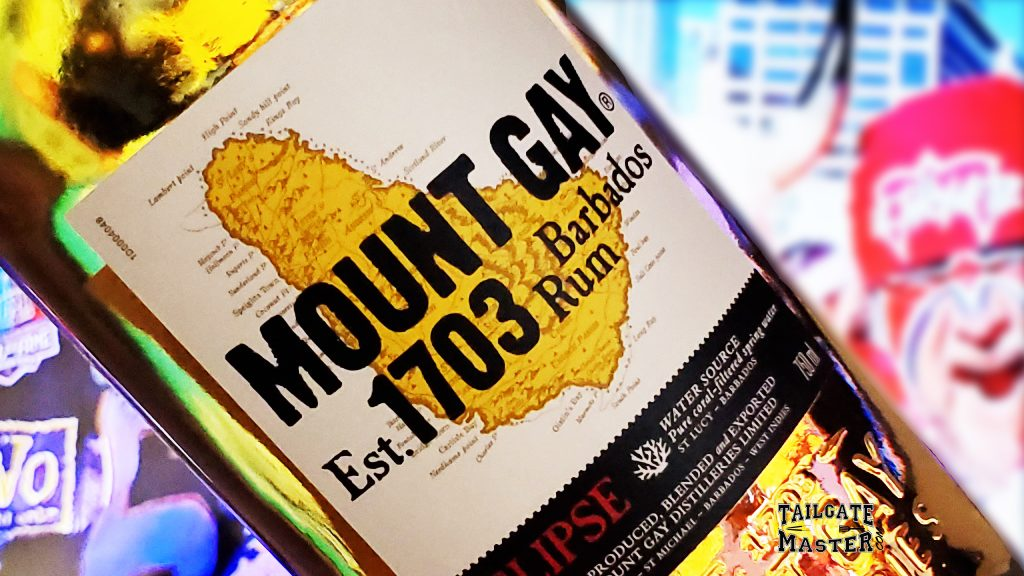 Mount Gay Rum tailgating party
