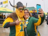 Tailgating with Admiral BigGun at North Dakota State
